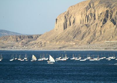 The north coasts of Peru landscapes